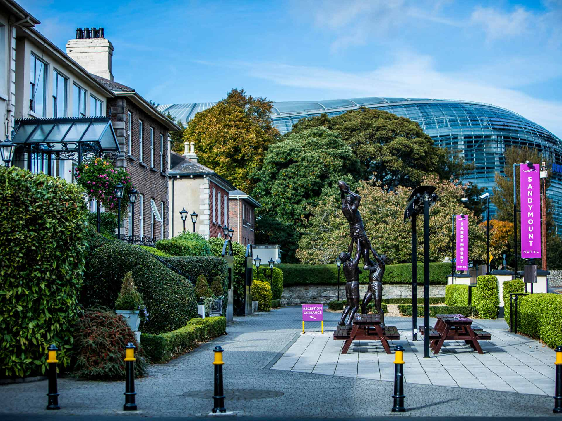 contact us sandymount hotel in dublin 4 official site